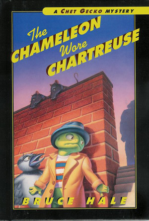 Chameleon Wore Chartreuse Book Cover