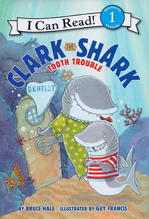 Clark the Shark Tooth Trouble Cover