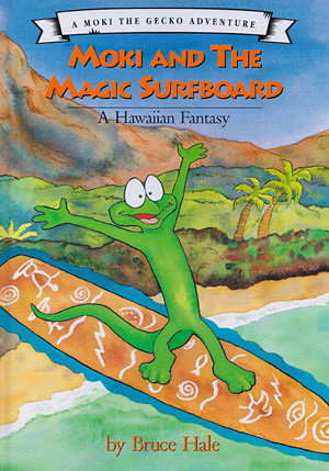 Moki and the Magic Surfboard Cover