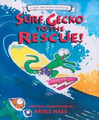 Surf Gecko to the Rescue Cover