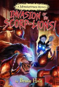 cover image for Invasion of the Scorp-Lions!